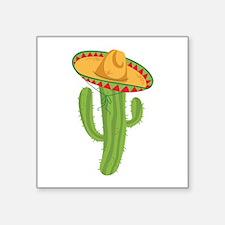 Sombrero Cactus Sticker