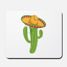Sombrero Cactus Mousepad