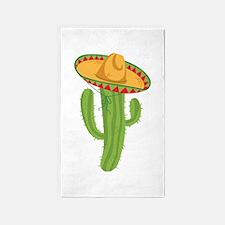 Sombrero Cactus 3'x5' Area Rug