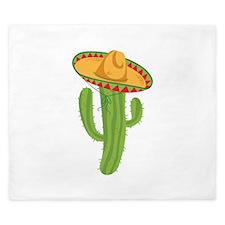 Sombrero Cactus King Duvet