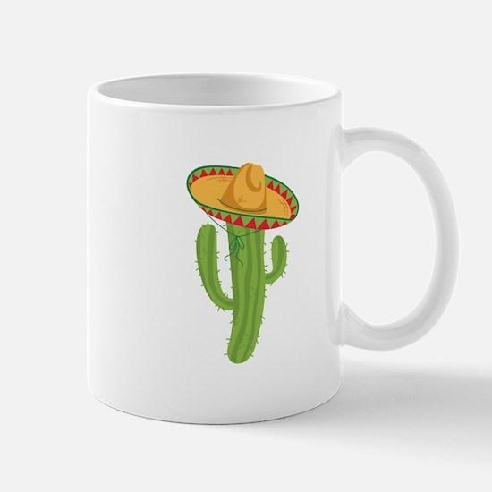 Sombrero Cactus Mugs