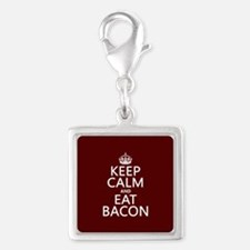 Keep Calm and Eat Bacon Charms
