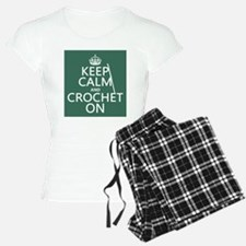 Keep Calm and Crochet On pajamas