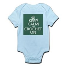 Keep Calm and Crochet On Body Suit