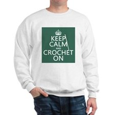 Keep Calm and Crochet On Jumper