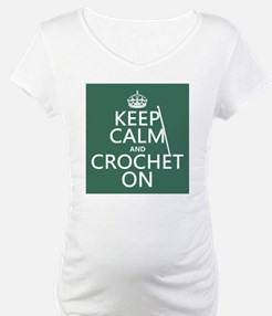 Keep Calm and Crochet On Shirt