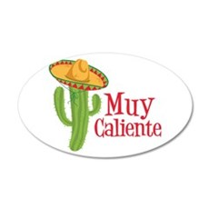 Muy Caliente Wall Decal