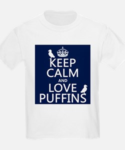 Keep Calm and Love Puffins T-Shirt
