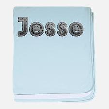 Jesse Metal baby blanket