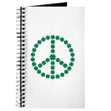 Irish shamrock peace Journal