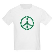 Irish shamrock peace T-Shirt