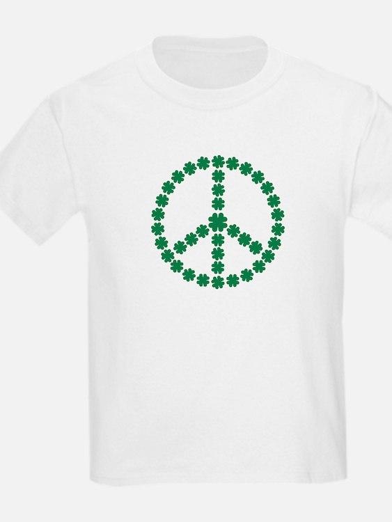 Irish shamrock peace T-Shirt
