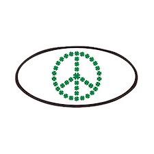 Irish shamrock peace Patches