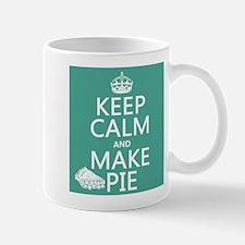 Keep Calm and Make Pie Mugs