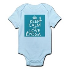 Keep Calm and Love Yoga Body Suit
