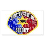Compton Sheriff Rectangle Sticker
