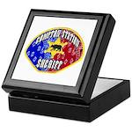 Compton Sheriff Keepsake Box