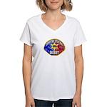 Compton Sheriff Women's V-Neck T-Shirt