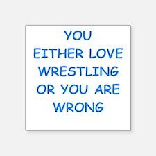 WRESTLING Sticker