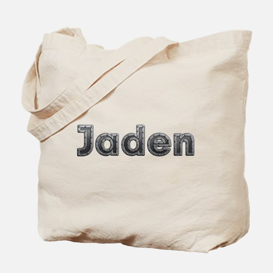 Jaden Metal Tote Bag