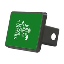 Keep Calm and Love Turtles Hitch Cover