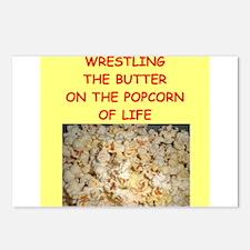 wrestler Postcards (Package of 8)