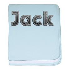 Jack Metal baby blanket