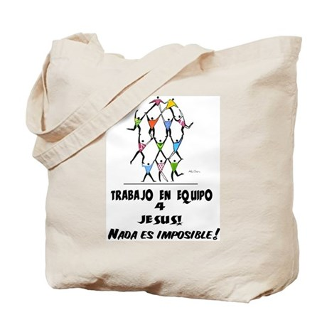 Spanish: Teamwork! Tote Bag