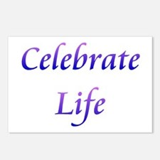 Celebrate Life Postcards (Package of 8)