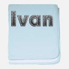 Ivan Metal baby blanket