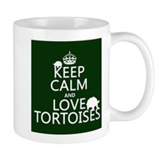 Keep Calm and Love Tortoises Mugs