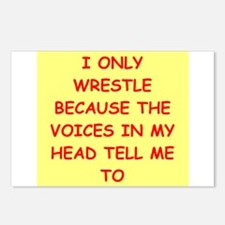 WRESTLE Postcards (Package of 8)