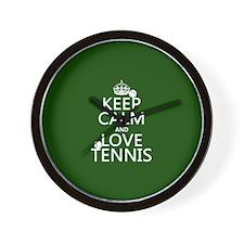 Keep Calm and Love ... Wall Clock