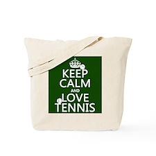 Keep Calm and Love ... Tote Bag