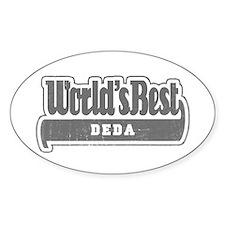 WB Grandpa [Serbian] Oval Decal