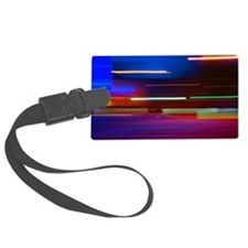 Colorful Abstract Art Luggage Tag