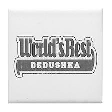 WB Grandpa [Russian] Tile Coaster