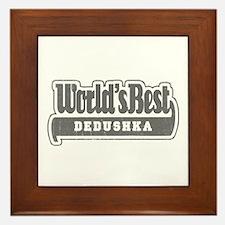 WB Grandpa [Russian] Framed Tile