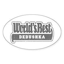 WB Grandpa [Russian] Oval Decal