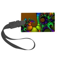 Colorful Art Luggage Tag