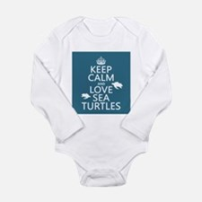 Keep Calm and Love Sea Turtles Body Suit