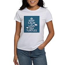 Keep Calm and Love Sea Turtles T-Shirt