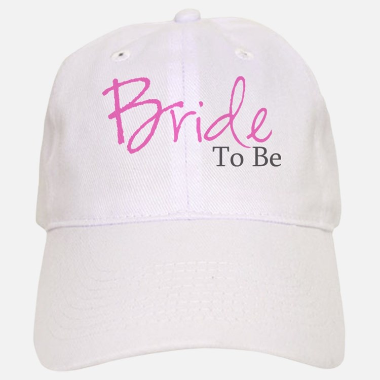 Bride To Be (Pink Script) Baseball Baseball Cap
