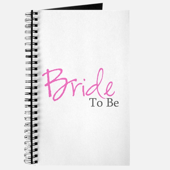 Bride To Be (Pink Script) Journal