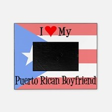Love My Puerto Rican Boyfriend Picture Frame
