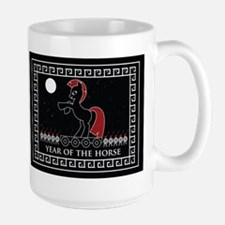 YEAR OF THE HORSE Mugs