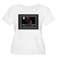 YEAR OF THE HORSE Plus Size T-Shirt