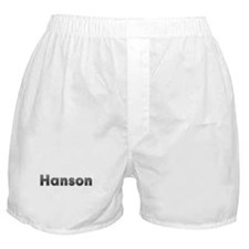 Hanson Metal Boxer Shorts