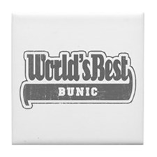 WB Grandpa [Romanian] Tile Coaster