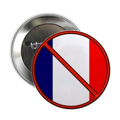 """Anti France 2.25"""" Button (100 pack)"""